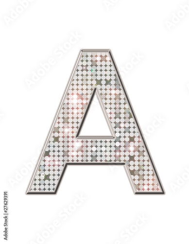 a alphabet strass et paillettes photo libre de droits sur la banque d 39 images. Black Bedroom Furniture Sets. Home Design Ideas