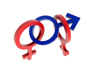 sex symbols - menage a trois