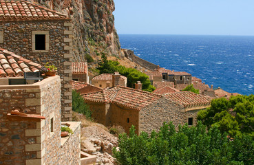 Old house in Monemvasia, Greece