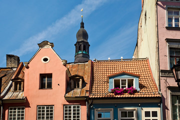 The roofs of Riga