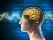 Leinwandbild Motiv Brain waves