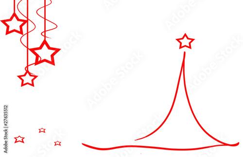 christmas tree xmas weihnachtsbaum rot weiss von d kohn lizenzfreies foto 27635512 auf. Black Bedroom Furniture Sets. Home Design Ideas