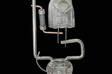 Detail Brenner Entladungslampe