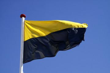 Flagge des deutschen Bundeslandes Sachsen-Anhalt