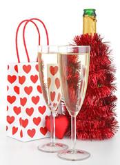 champagne pour noël