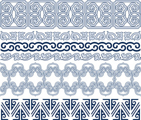 oriental decorative element design