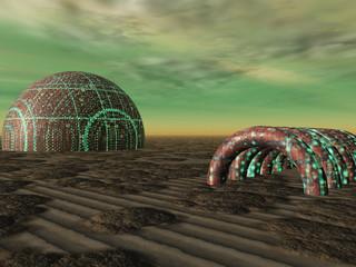 casas marcianas