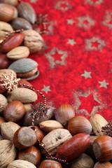 Nut Christmas border