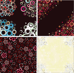 Set stylish patterns.