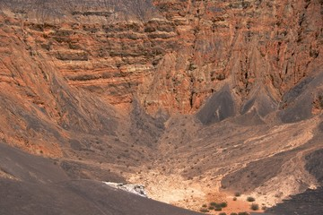 Ubehebe Crater pit, Death Valley National Park