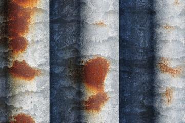 macro corrugated iron
