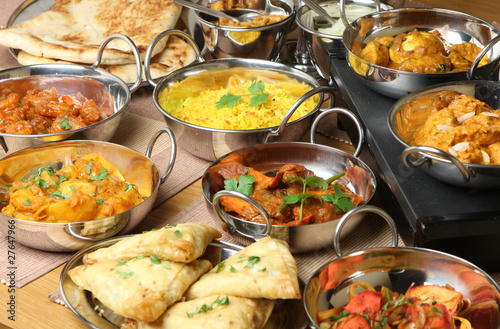 Aluminium Kruidenierswinkel Indian Food Selection