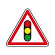 Panneau Signalisation Feu tricolore
