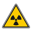 Panneau Signalisation Jaune Nucléaire