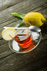 lemon tea-te al limone
