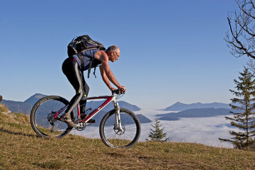 Mountainbiken am Kranzberg