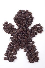 gentlemans sign of fair trade coffee beans