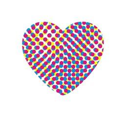 Raster heart