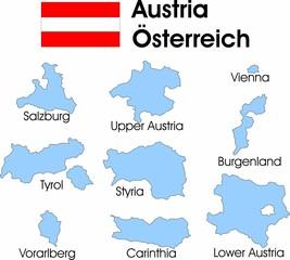 Österreich Bezirke
