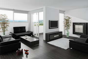 Contemporary Sitting Room