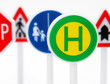 Verkehrs- Schilder - Traffic Signs
