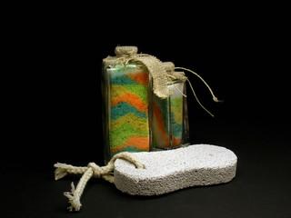 bath salt and scrub