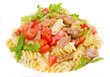Tuna and pasta salad