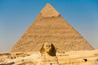 Sphinx Giza Pyramid Khafre Center