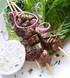 Fototapety Lamb Kebabs