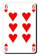 Six de coeur