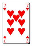 Sept de coeur