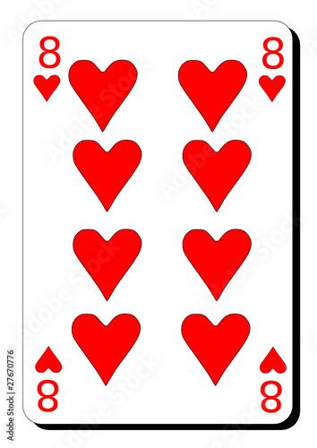 Huit de coeur