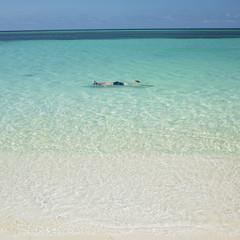 snorkeling, Guardalavaca, Cuba