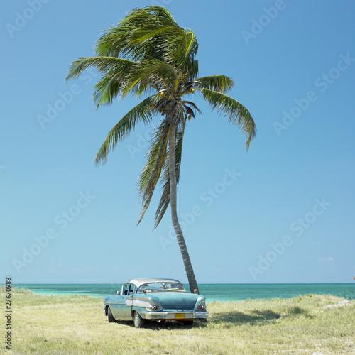 old car, Playa del Este, Havana Province, Cuba
