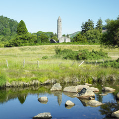 St. Kevin´s Monastery, Glendalough, County Wicklow, Ireland