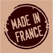 France rubber stamp