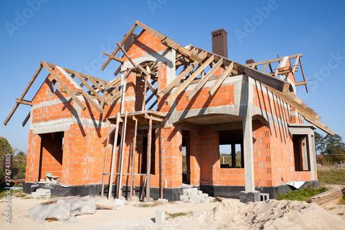 Крыша на кирпичном доме своими руками