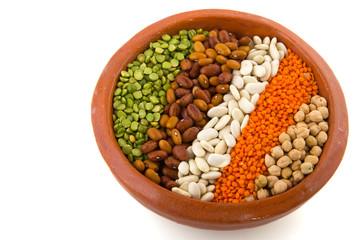 Various legumes