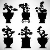 Bonsai Tree rostlin květináč