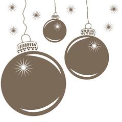 Christbaumkugeln Weihnachtsmotiv