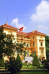 Presidential Palace at Hanoi, Vietnam