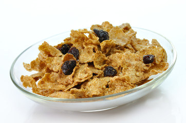 bran and raisin cereal
