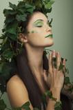 Mother nature praying