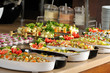 Catering food at a wedding party - RESTAURANT series.