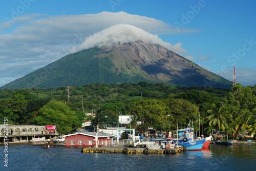 Foto op Canvas Vulkaan Ometepe, Nicaragua