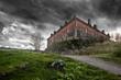 The gloomy ancient house