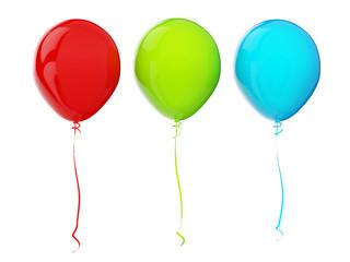 Balloons. RGB colors