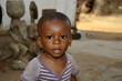 Kleiner Junge in Afrika