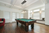 Pool room in luxury home