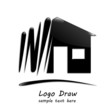 Logo draw a house